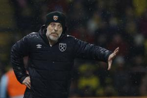 Slaven Bilic on the Vicarage Road touchline. Picture: Action Images