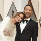 East London and West Essex Guardian Series: John Legend and Chrissy Teigen were 'couple goals' on the Oscars red carpet