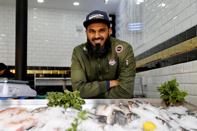 Naz Hassan, one of the owners of Five Star Fish, wants Leytonstoners to challenge themselves and try something new.