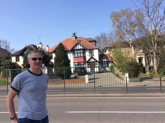 John Culkin is calling on Redbridge Council to improve safety for cyclists and drivers at the Knighton Drive junction of Woodford Green High Road 'before someone is killed'