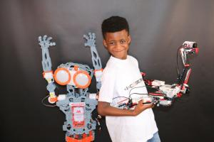 East London and West Essex Guardian Series: Robotics whizz-kid Callum Daniel has started his own company aged eight.