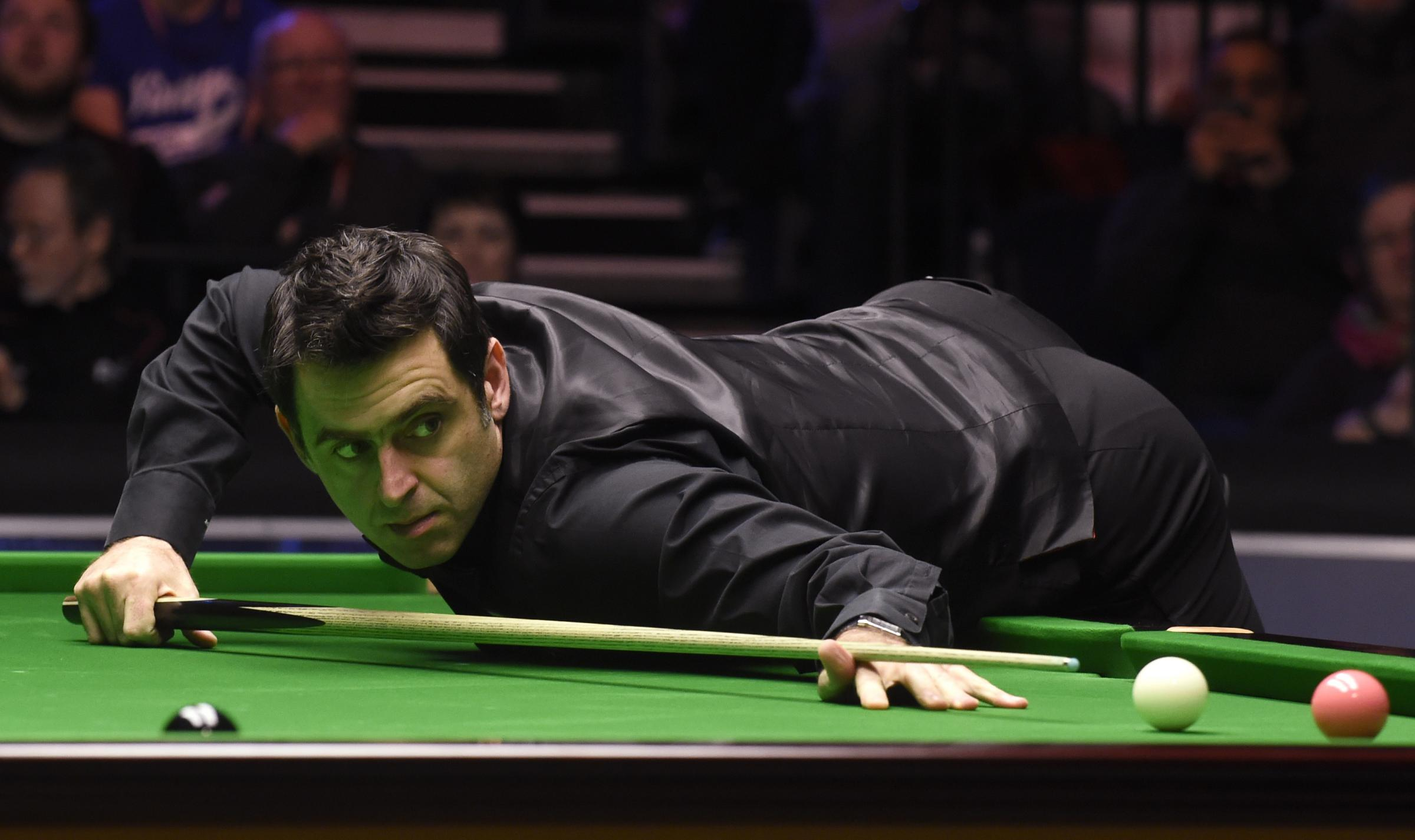 Ronnie O'Sullivan knows Mark Selby is the man to beat. Picture: Action Images via Reuters