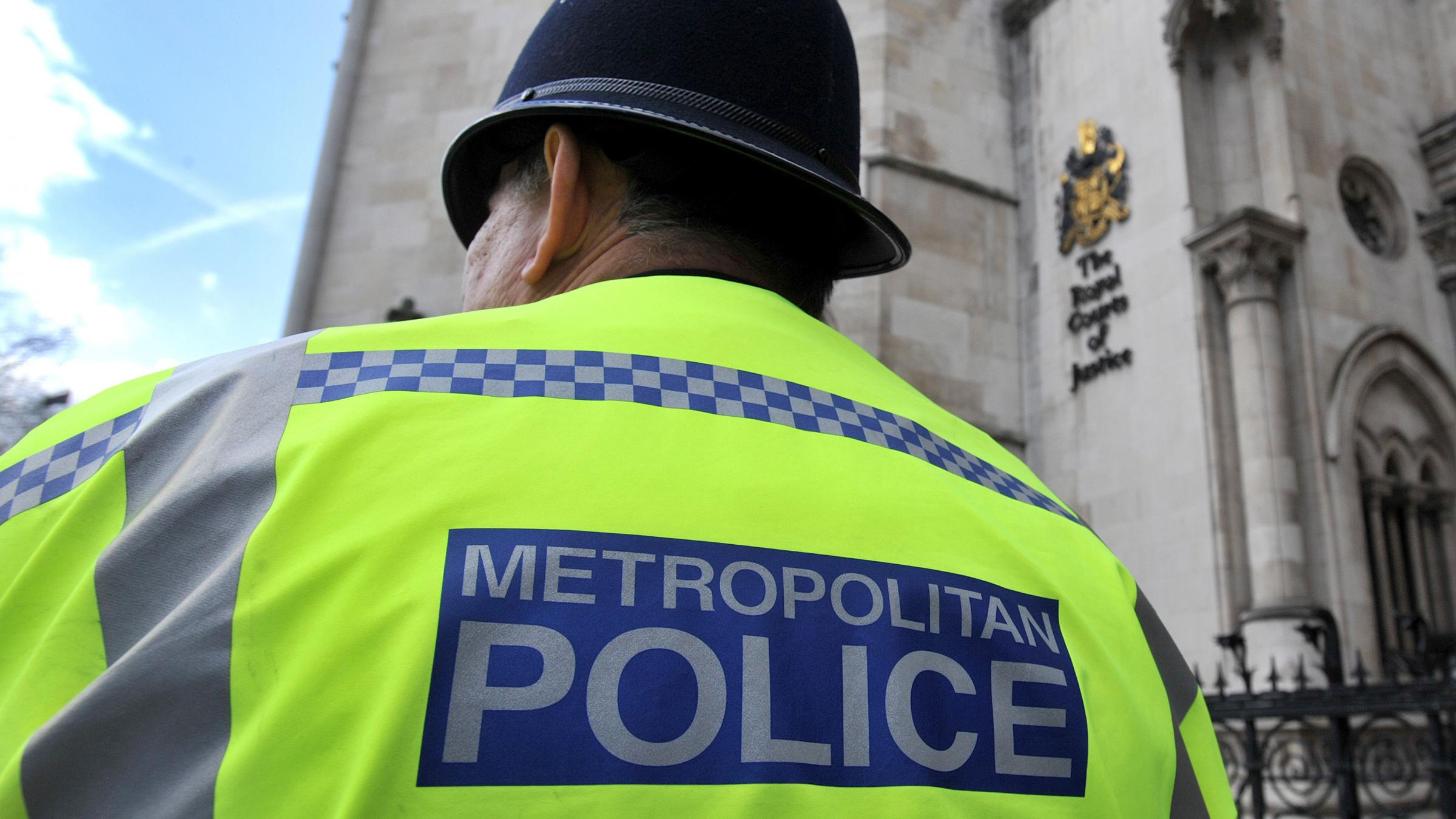 Three men charged with terror offences in east London