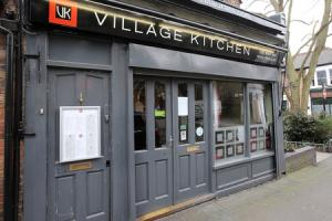 The Village Kitchen in Orford Road, Walthamstow, was raided by immigration officials on Friday night.