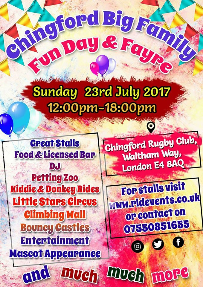 Chingford Family Fun day & Fayre