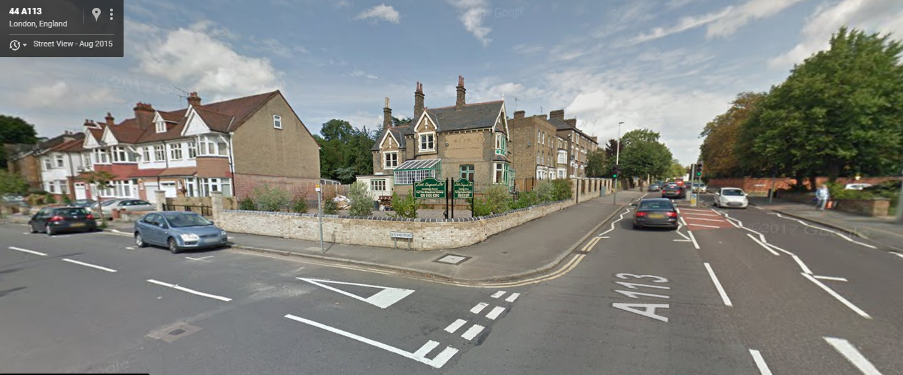 The victim was stabbed on her way to work at Little Diamonds Nursery in Hermon Hill, Wanstead (Photo: Google)