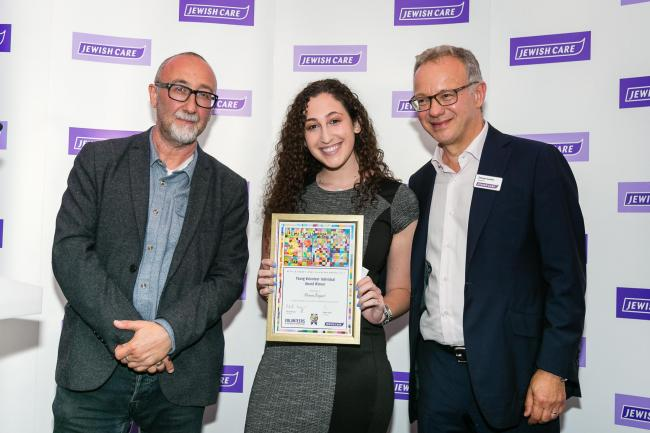 Chigwell teenager scoops awards for clocking up 100 hours