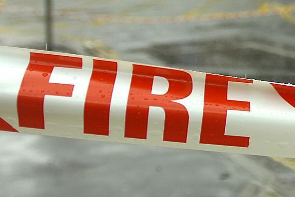 A woman has died after a fire broke out at a home for people with learning disabilities.