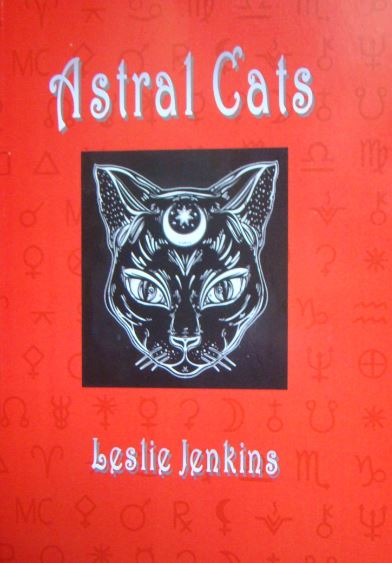 Astral Cats is the debut book by Leslie Jenkins