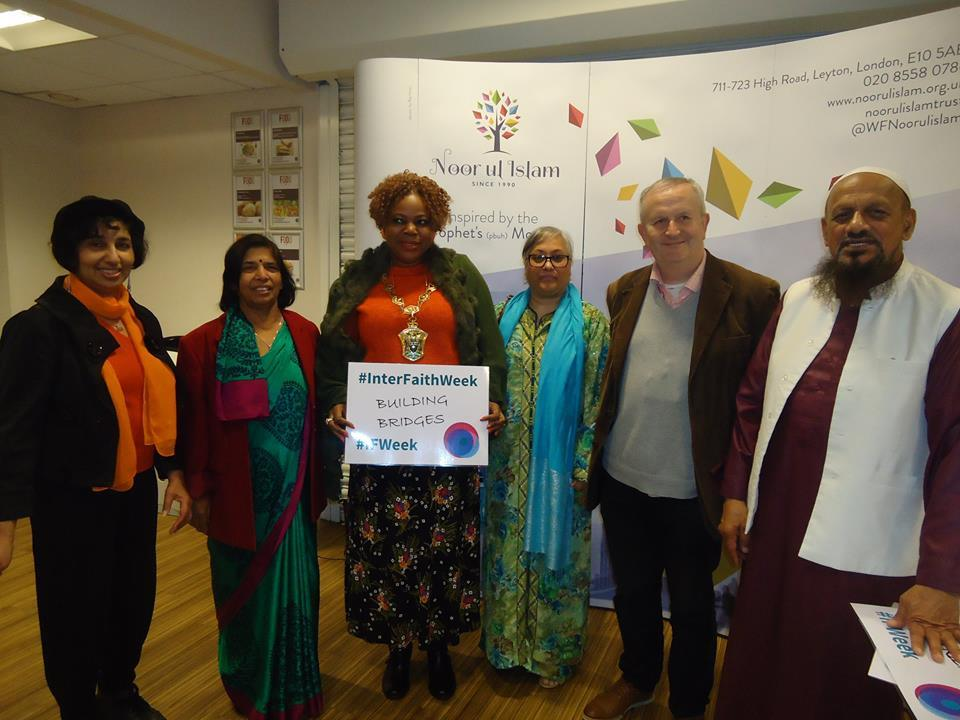 Interfaith night at Leyton Sixth Form College.