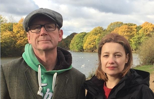 John Meehan and Jo Blackman, chairman an vice chairwoman of Friends of Wanstead Parklands, are bidding for a £5 million grant