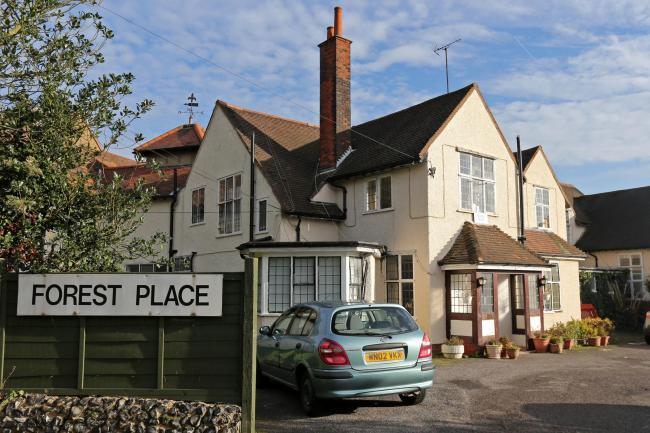 The woman was pronounced dead at Forest Place Nursing Home, Buckhurst Hill