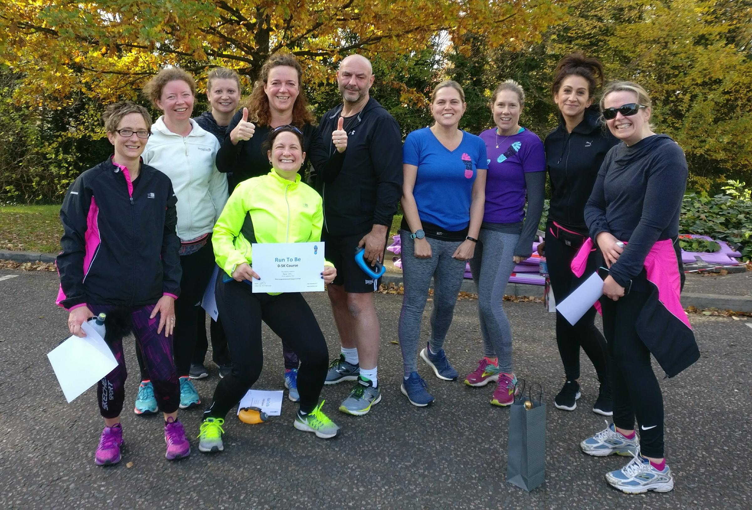 Run2Be is a running club with a difference, featuring elderly participants, those with cancer and people on weight loss programmes