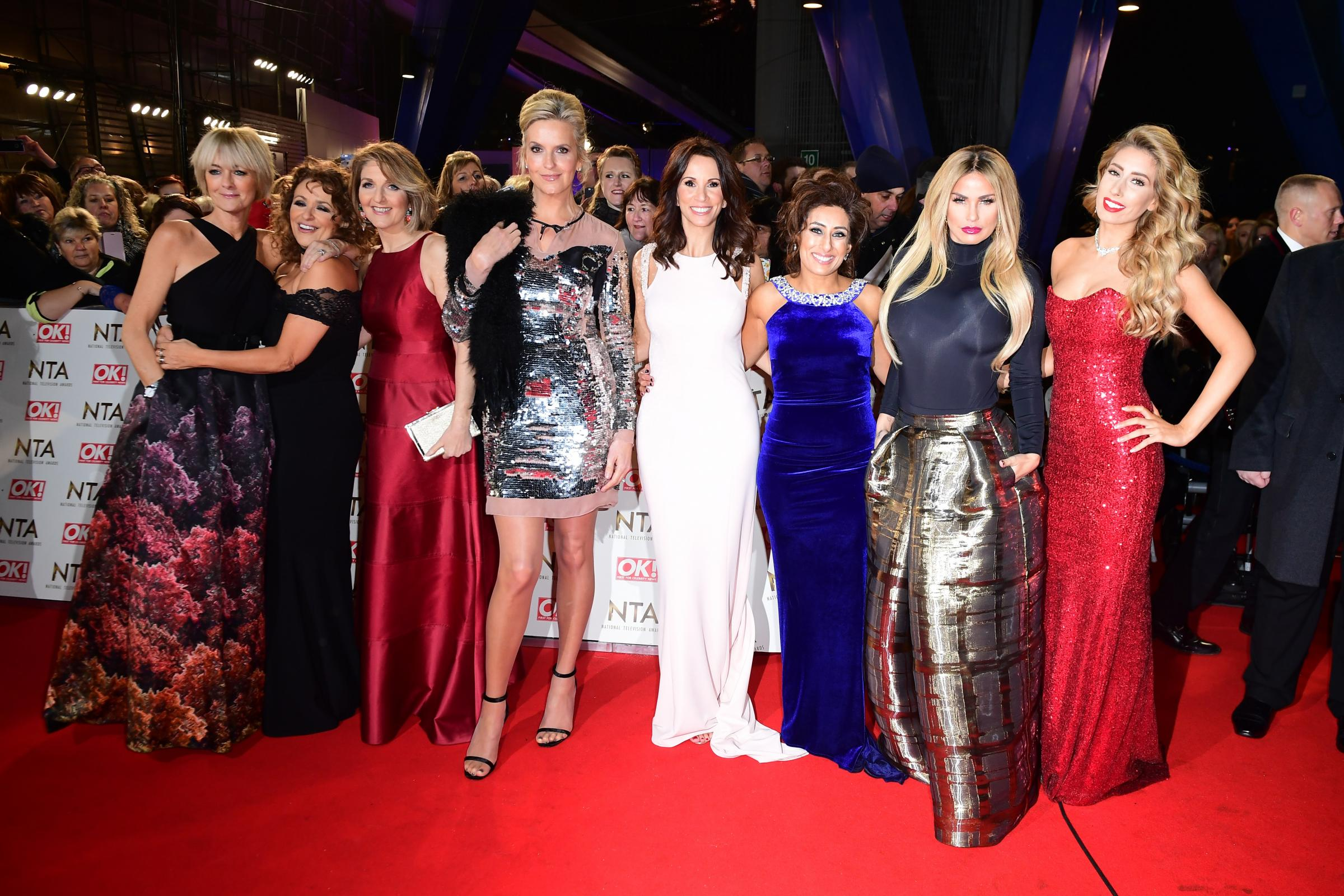 The Loose Women will be joined by men for a festive special (Ian West/PA)