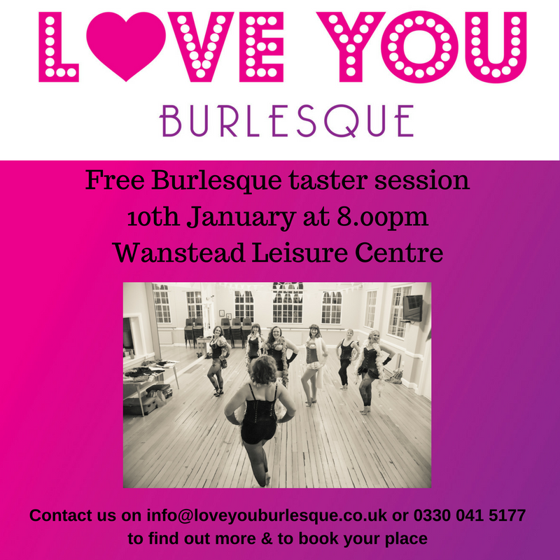 Free Burlesque Taster Session