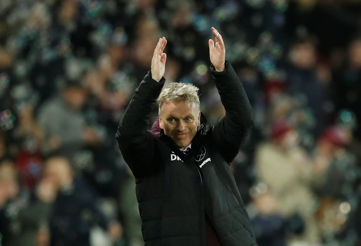 Aiming to be looking up: David Moyes. Picture: Action Images