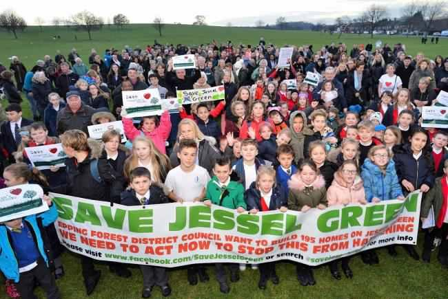 Hundreds have supported the campaign and have vowed to save Jessel Green