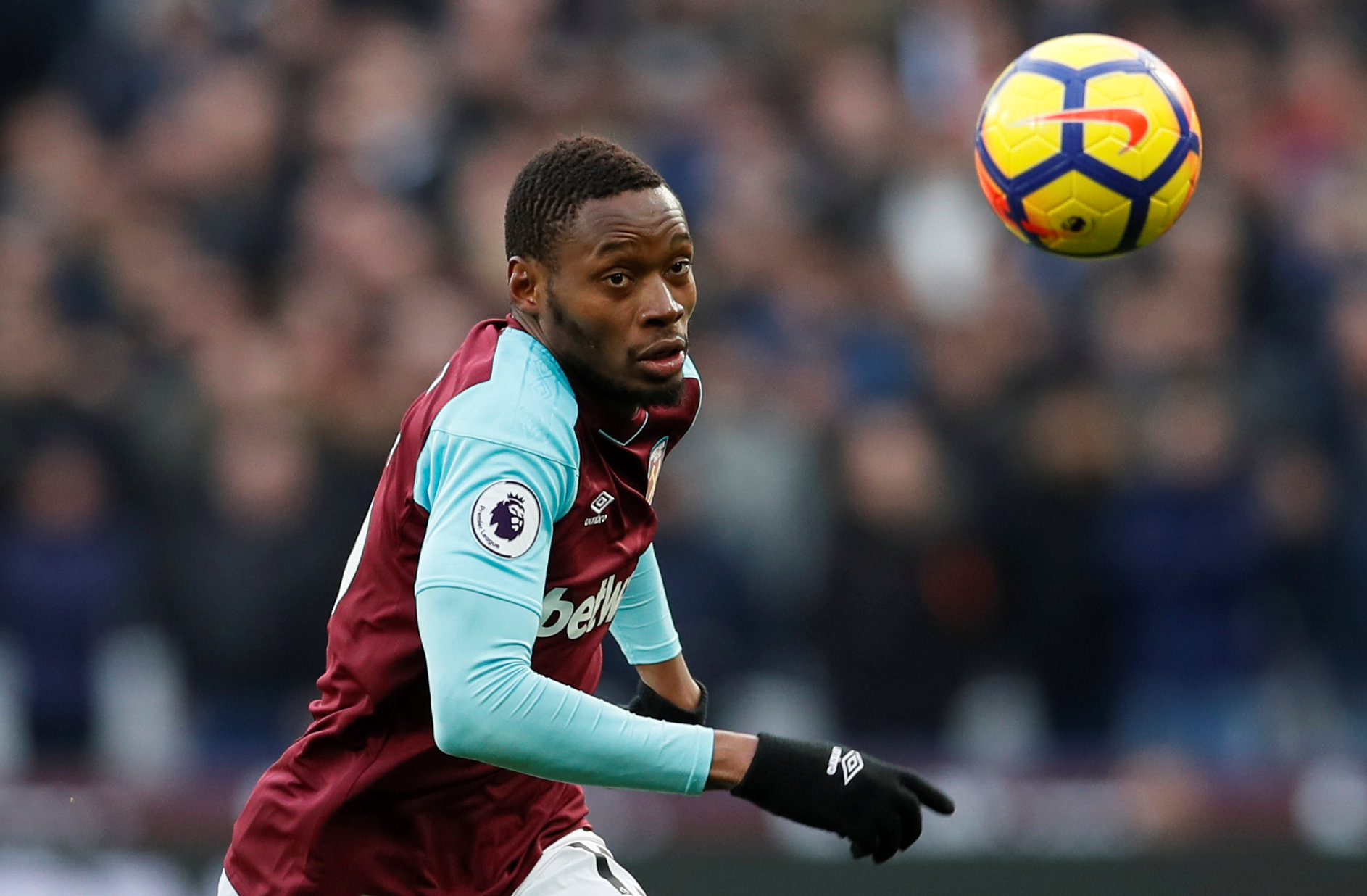 Diafra Sakho has left the Hammers. Picture: Action Images