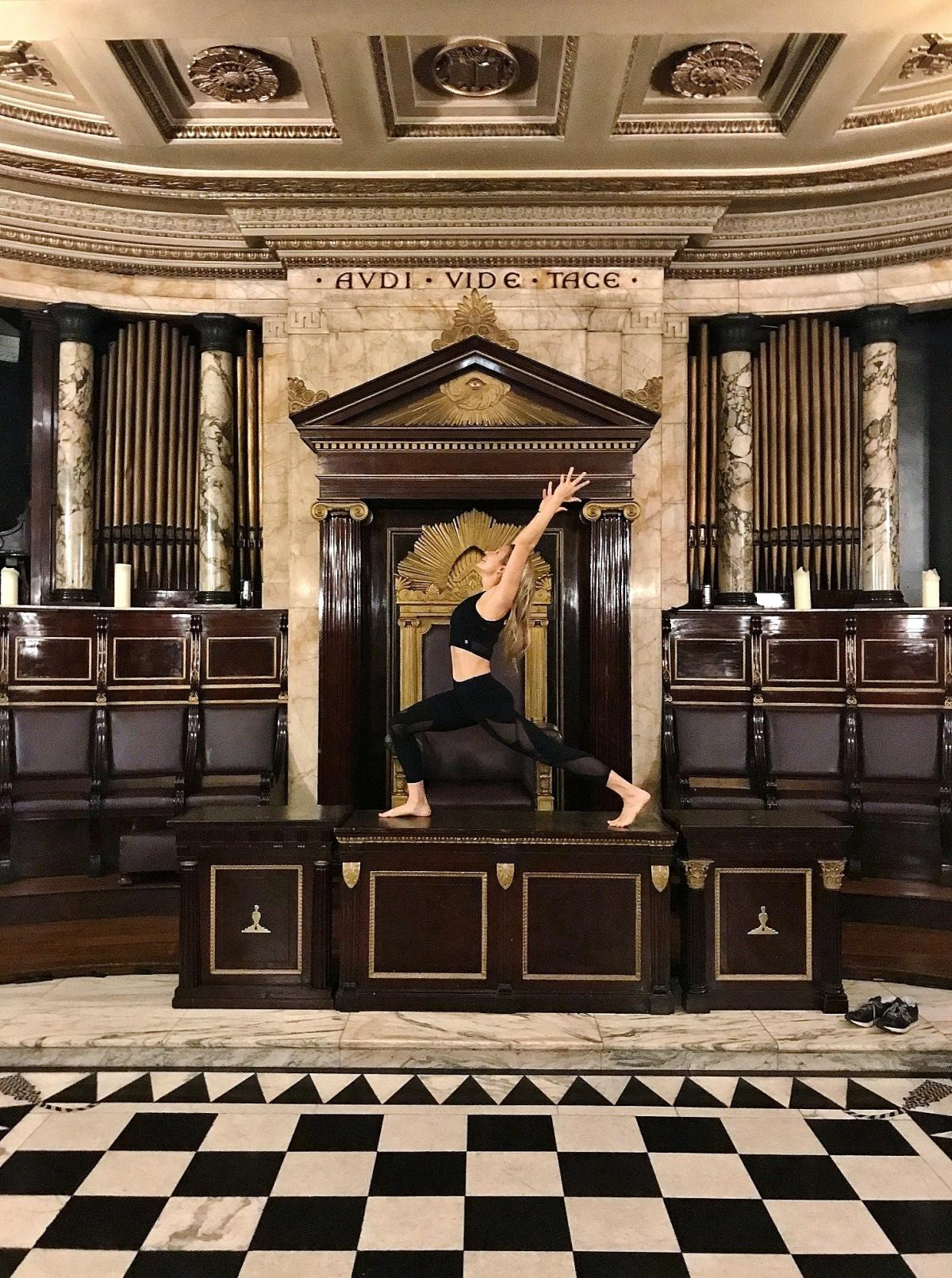 Rare chance to uncover londons hidden masonic temple for brunch and rare chance to uncover londons hidden masonic temple for brunch and yoga m4hsunfo