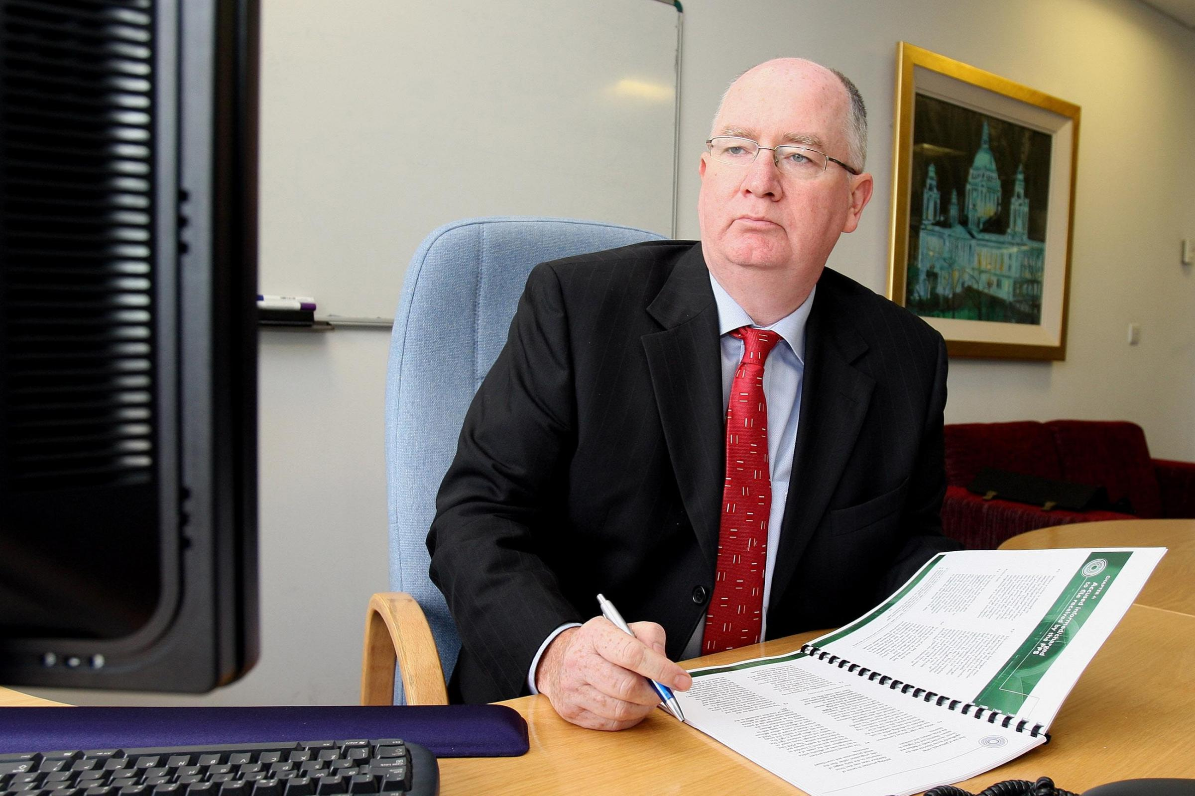 Police Ombudsman Dr Michael Maguire (Paul Faith/PA)