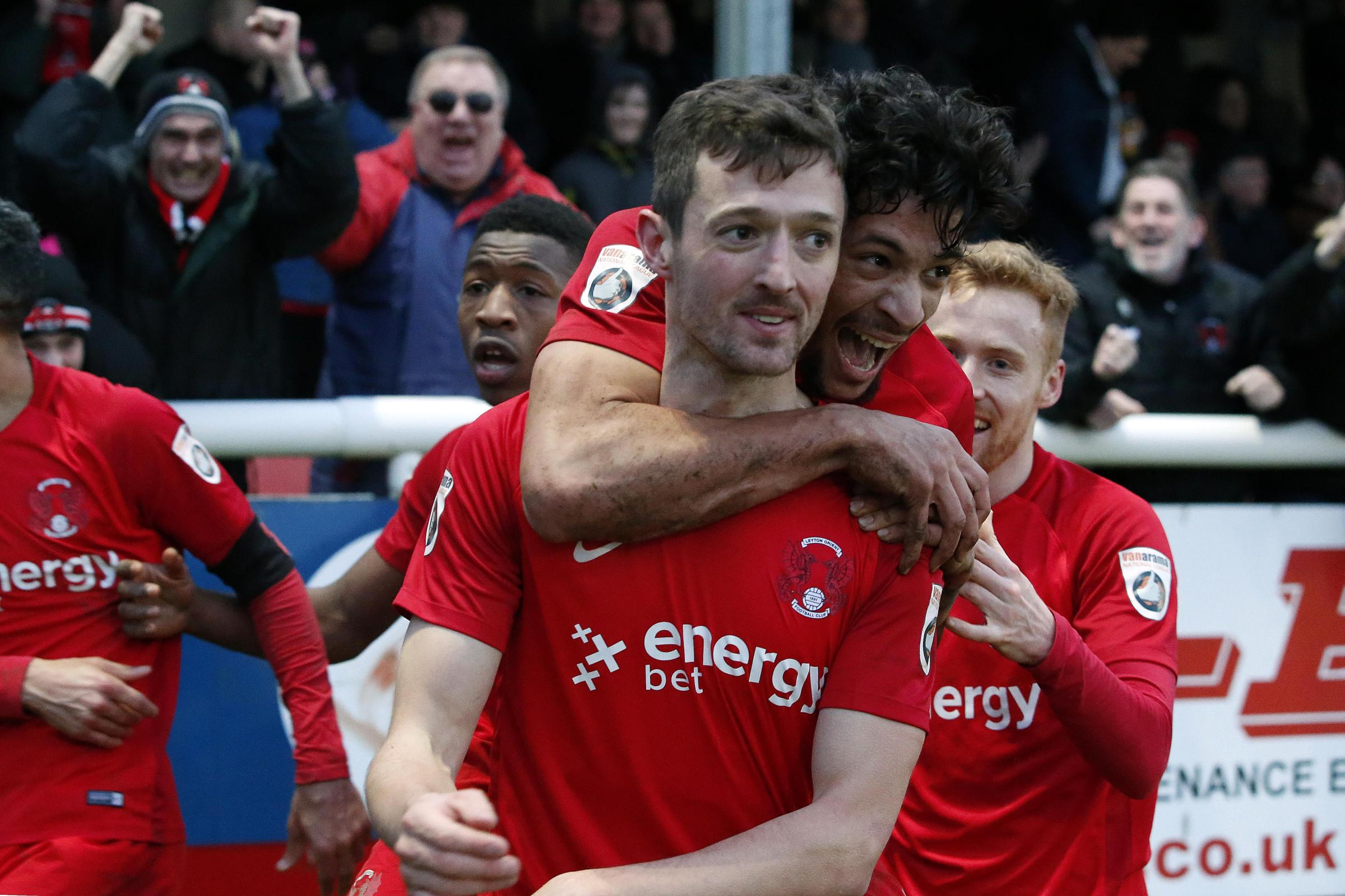 David Mooney scored a 90th minute winner after Orient had allowed a 3-0 lead slip against Dover. Picture: Simon O'Connor
