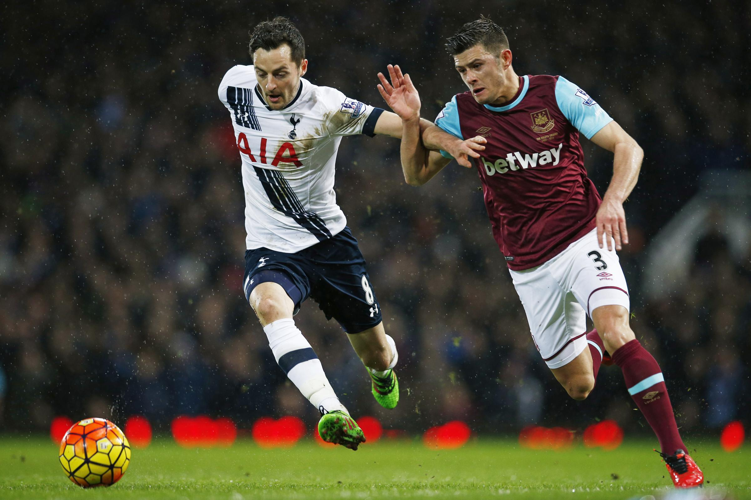 Ryan Mason in action for Spurs. Picture: Action Images