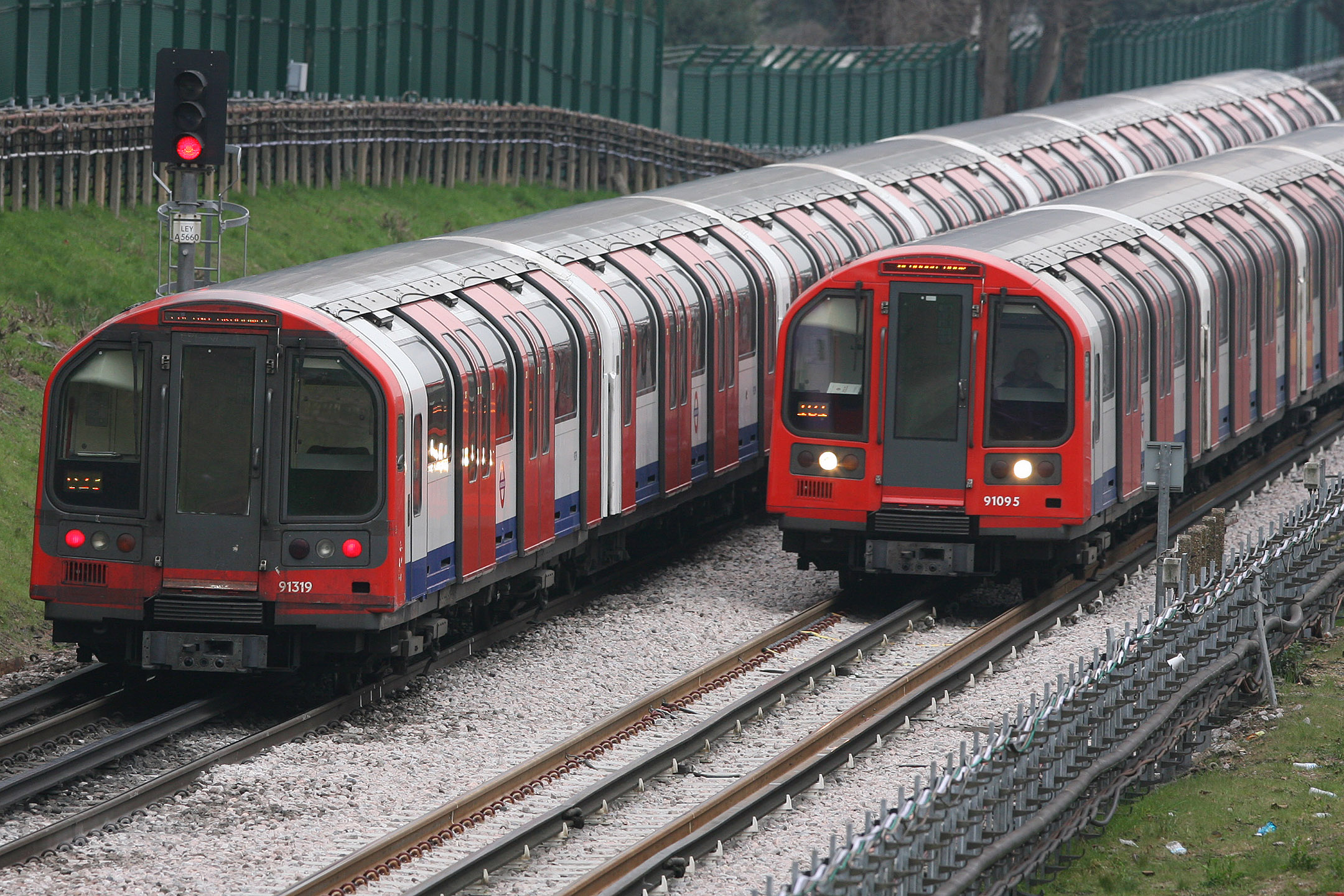 The Central line has been hit by suspensions