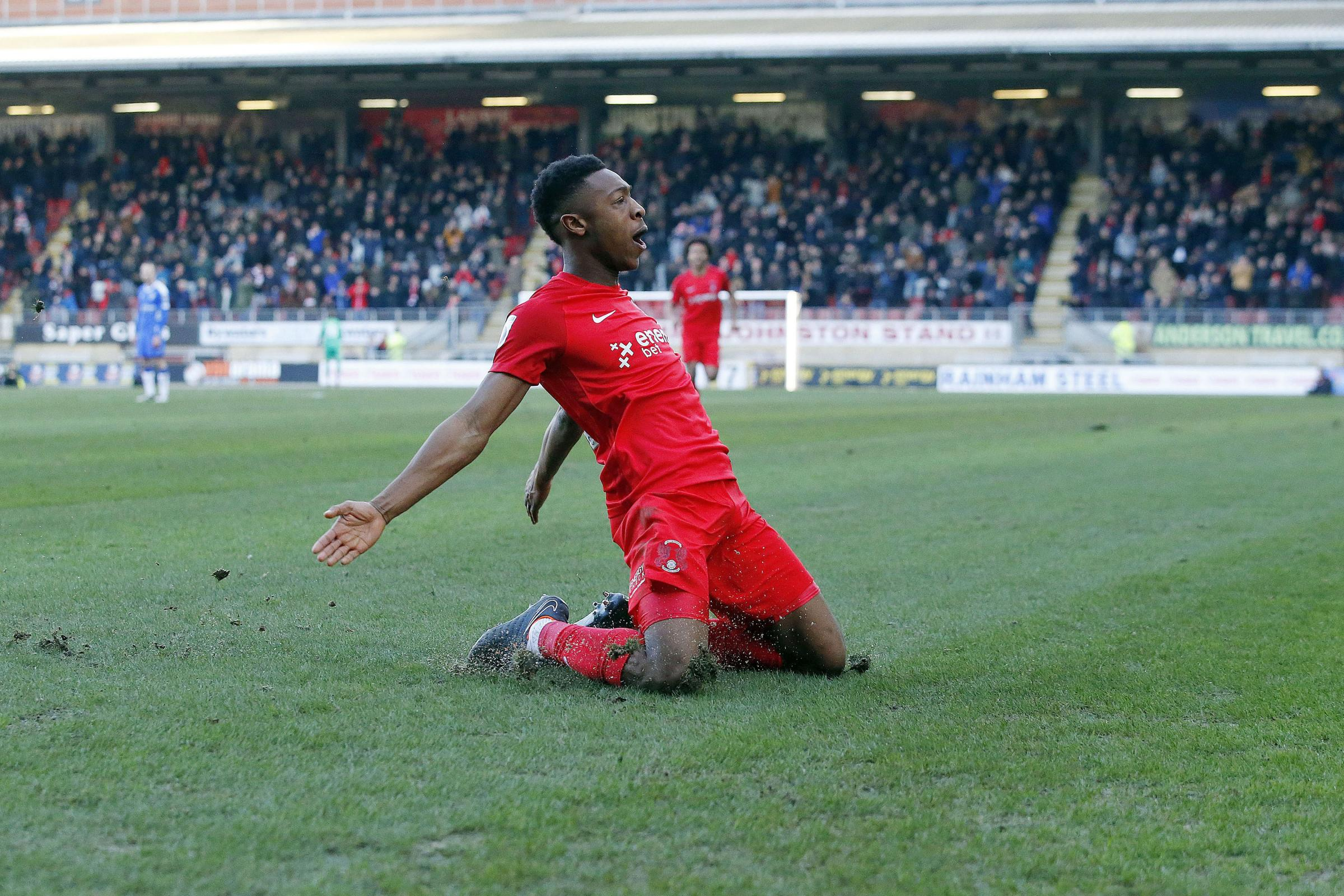 Ebou Adams will not join Leyton Orient this summer. Picture: Simon O'Connor.