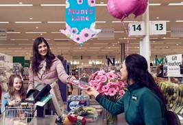 Why you might enjoy doing the weekly shop in Morrisons on Mother's Day