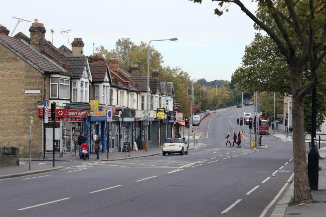 The shooting took place in Forest Road, Walthamstow