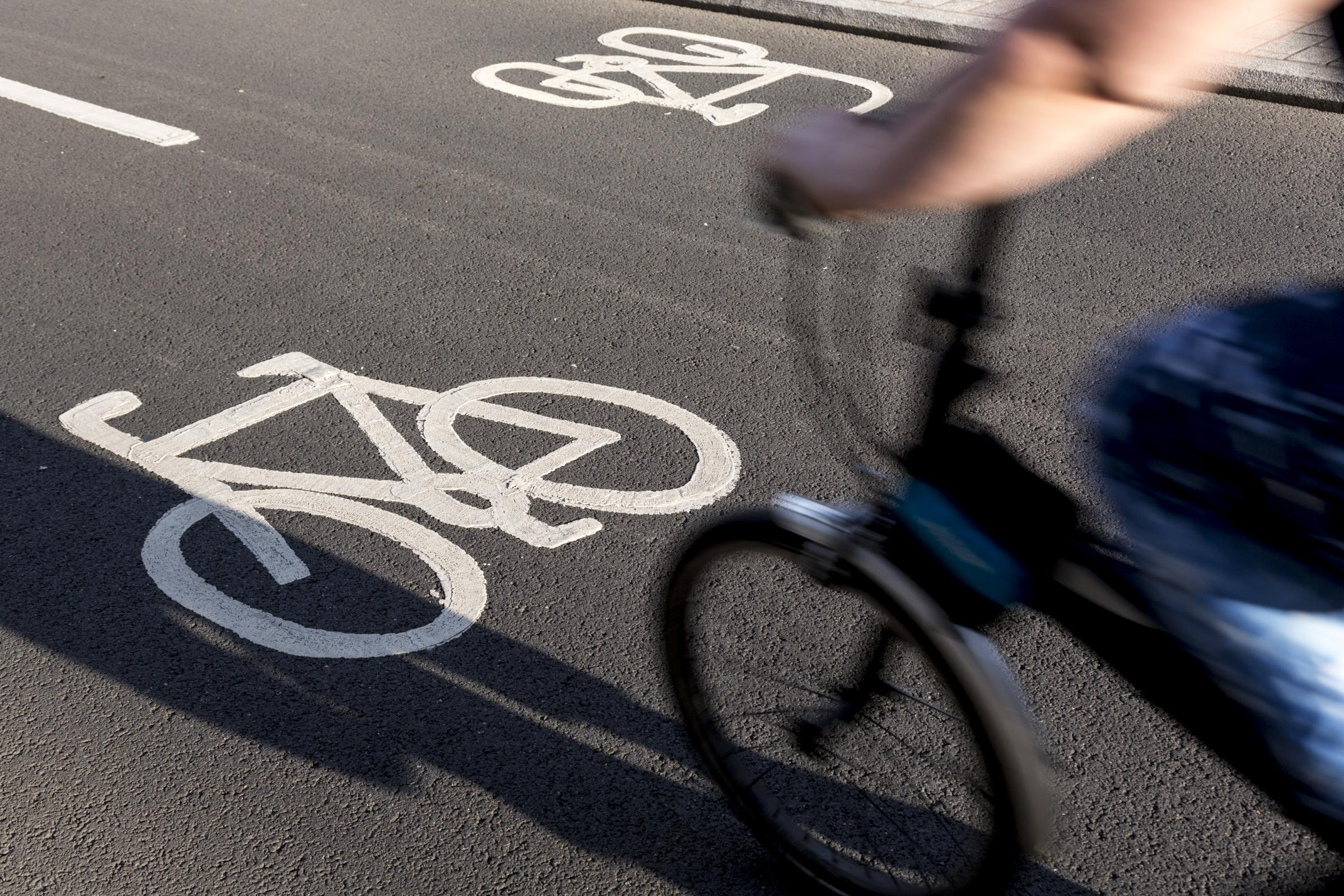 Mark Dawes believes poorly-designed cycle lanes are dangerous for pedestrians and cyclists