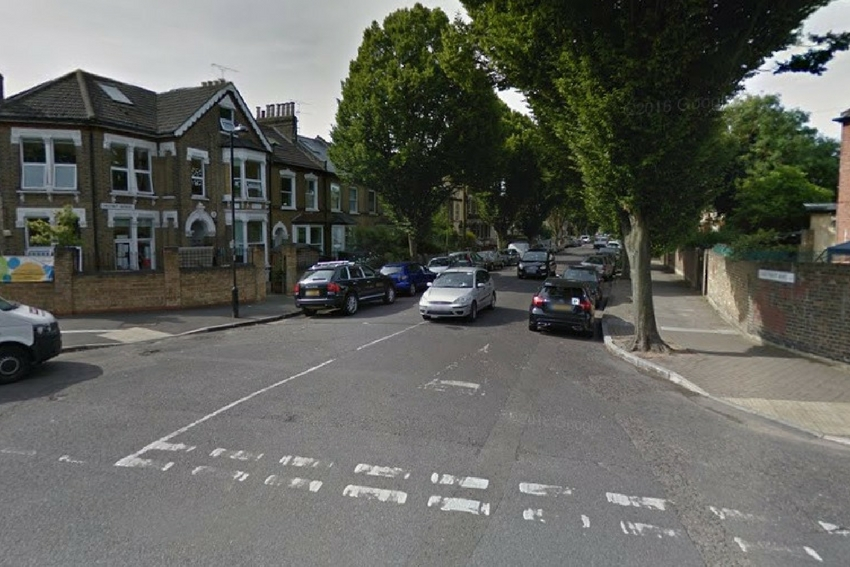 The incident took place in Chestnut Avenue, Forest Gate (pic: Google)