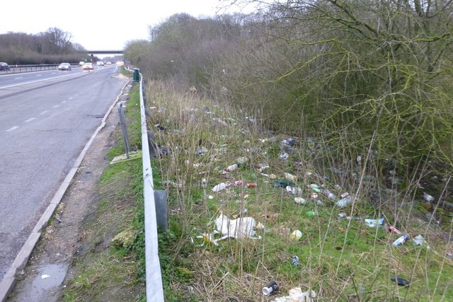 A change in law will help environmental officers catch road litterers