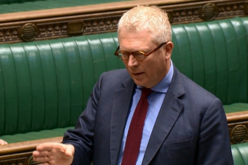 Mr Cryer speaking in the Commons on Thursday