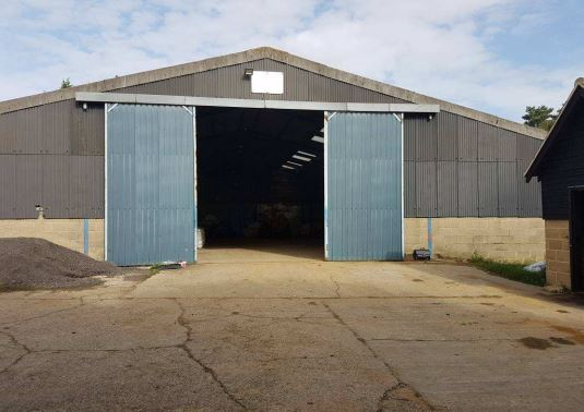 One of the sheds to be turned into holiday accomodation
