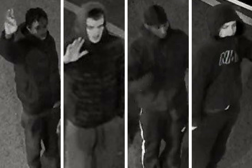 Police want to identify these four men