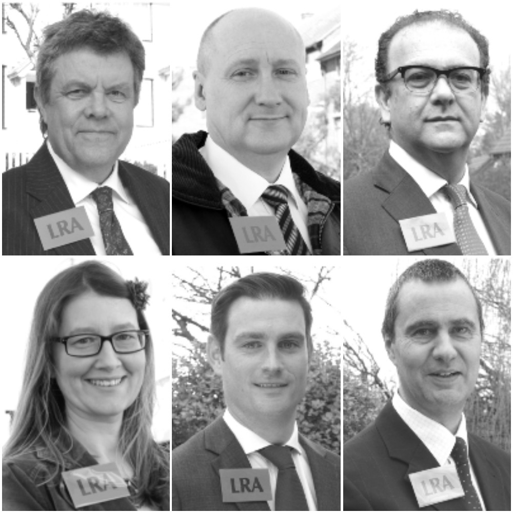 LRA councillors up for election (top left to bottom right): Bob Jennings, Chris Roberts, Howard Kauffman, Louise Mead, Michael Owen and Roger Baldwin