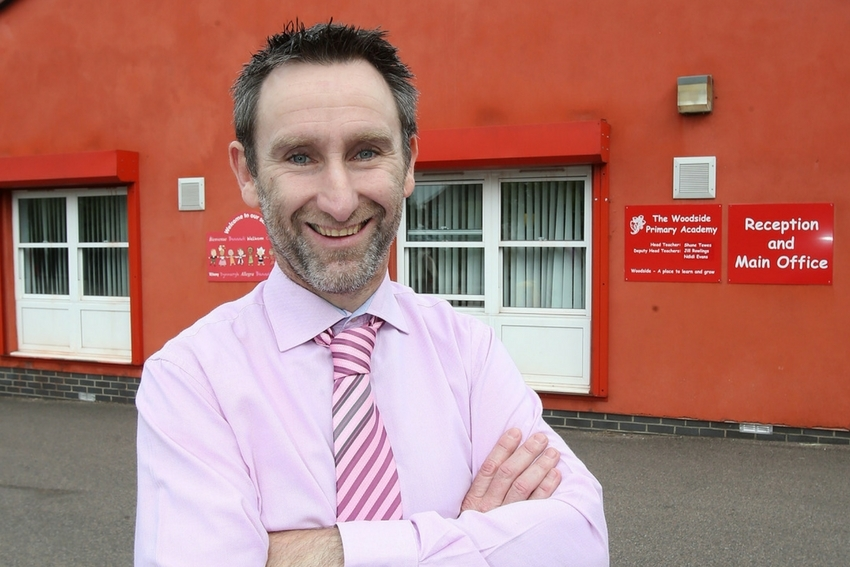 Shane Tewes is head teacher at Woodside Primary Academy
