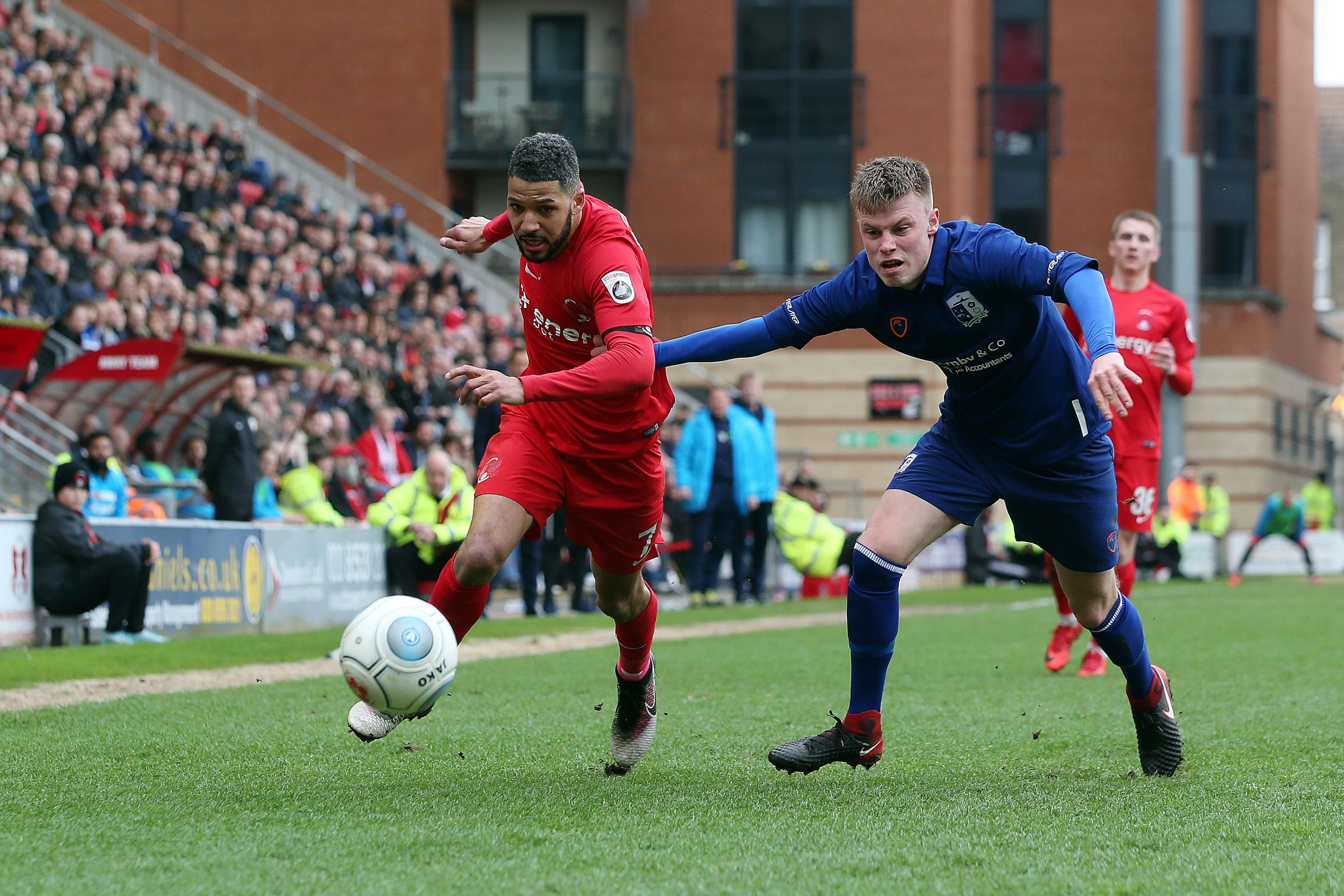 Jobi McAnuff impressed for Leyton Orient once again on Saturday. Picture: Simon O'Connor.