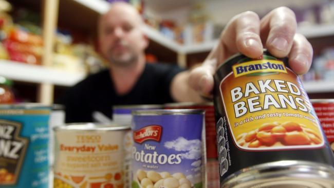 The number of emergency parcels handed out at the foodbank has doubled