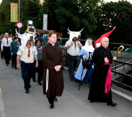 A procession will make its way through Waltham Abbey