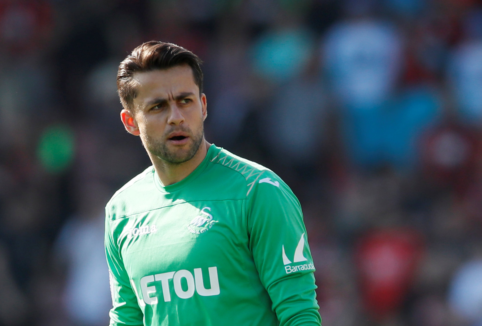 West Ham have reportedly had bids rejected for Lukasz Fabianski (pictured) and Alfie Mawson. Picture: Action Images