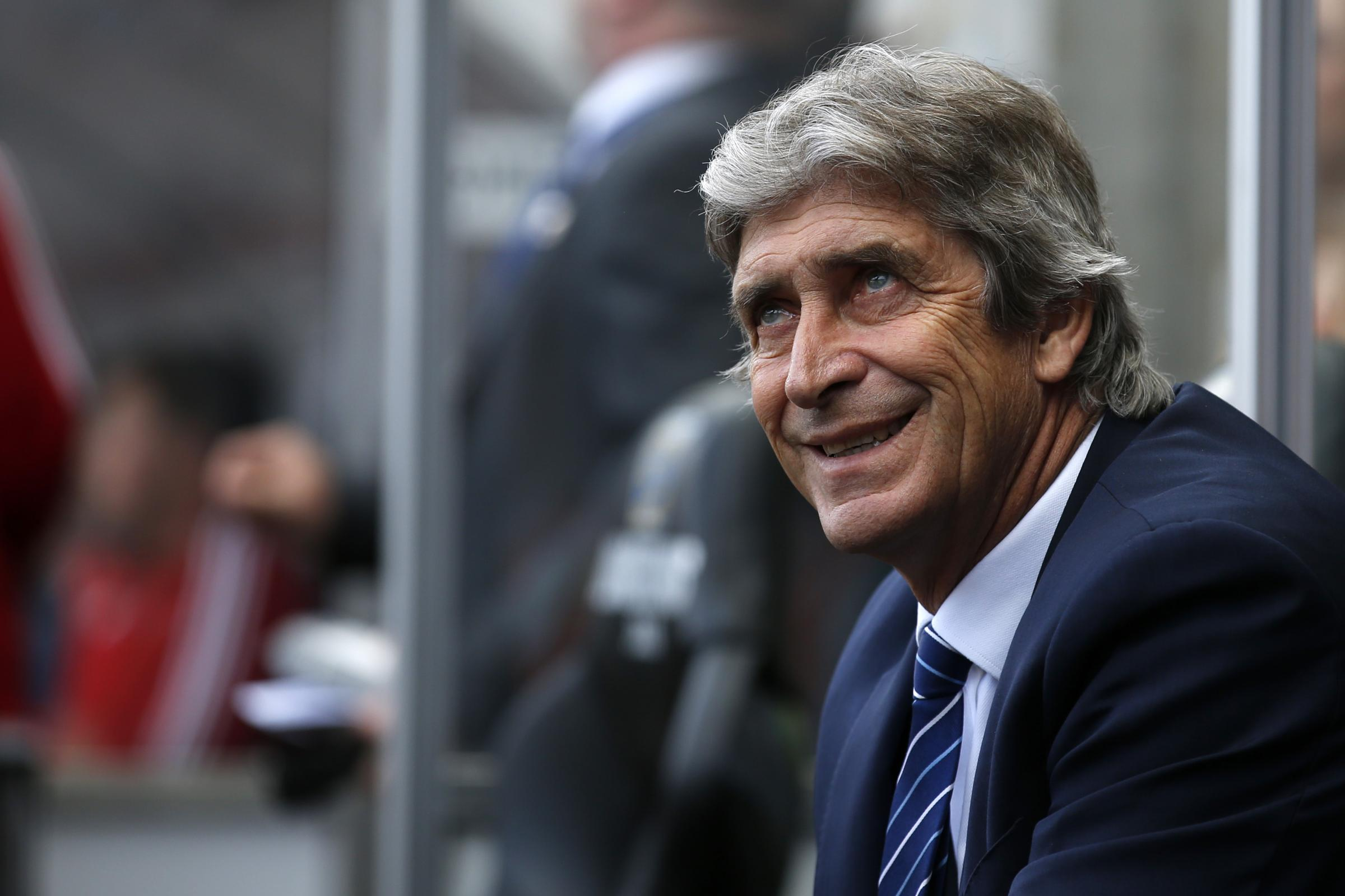 Manuel Pellegrini is confident of building a 'strong' Hammers team. Picture: Action Images