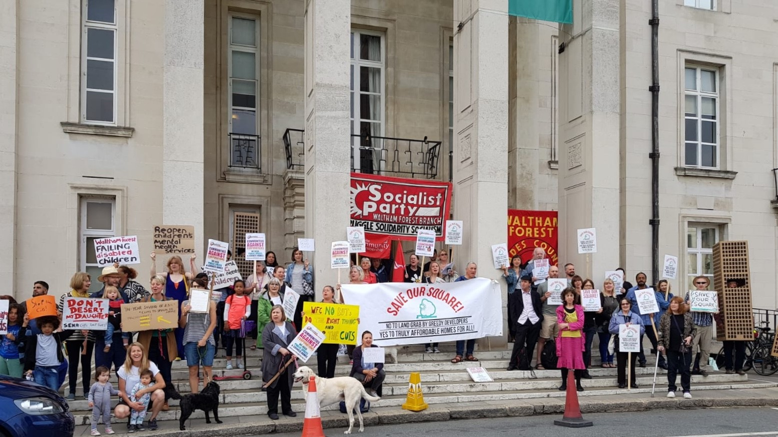 The Save Our Square campaign have been fighting Waltham Forest Council's local plan