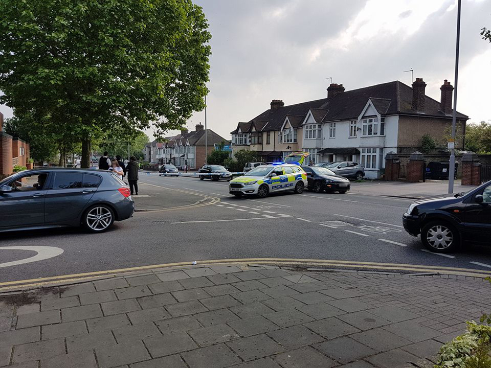 A 15-year-old boy was stabbed in the chest in Chingford Mount Road this afternoon. Another 15-year-old was stabbed in Ainslie Wood Road