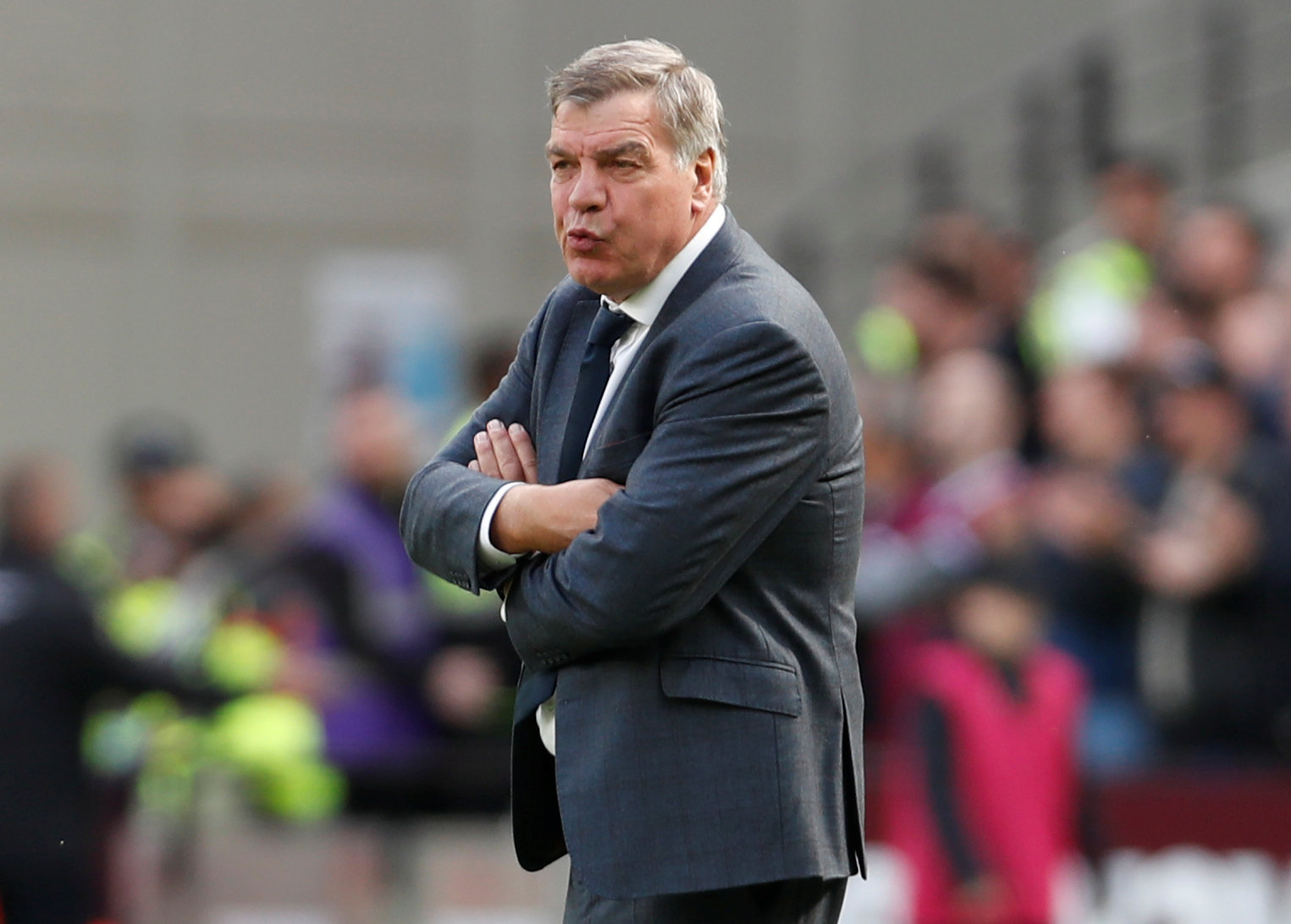 Former Hammers boss Sam Allardyce. Picture: Action Images