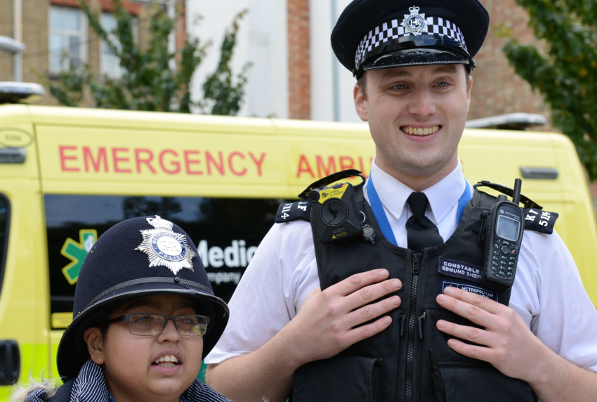 Hospital invites kiddies to explore ambulances and learn about NHS at open day