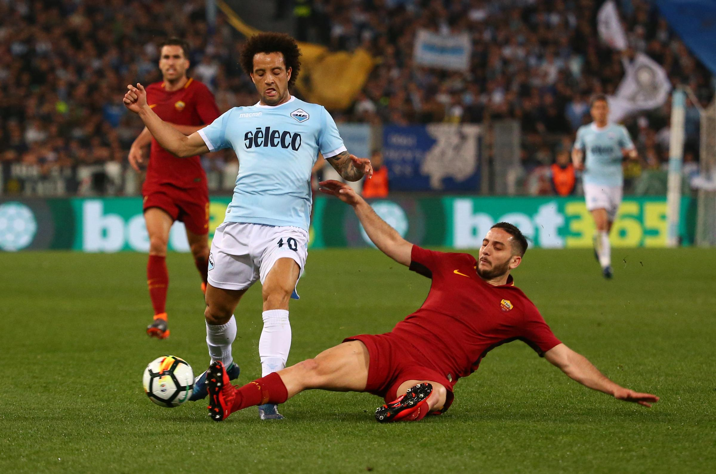 Felipe Anderson is reportedly edging closer to a move to West Ham. Picture: Action Images.