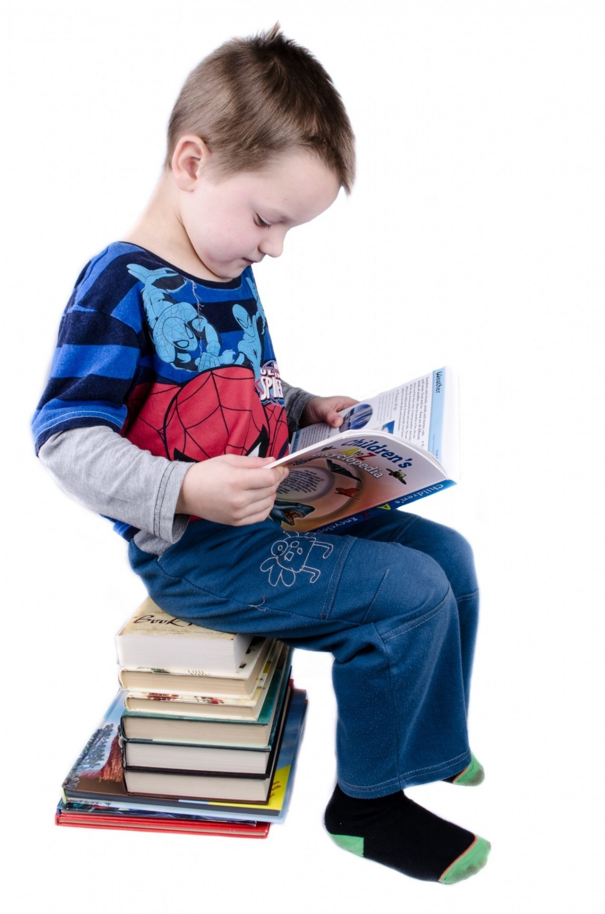 Encourage your child to pick up a book this summer