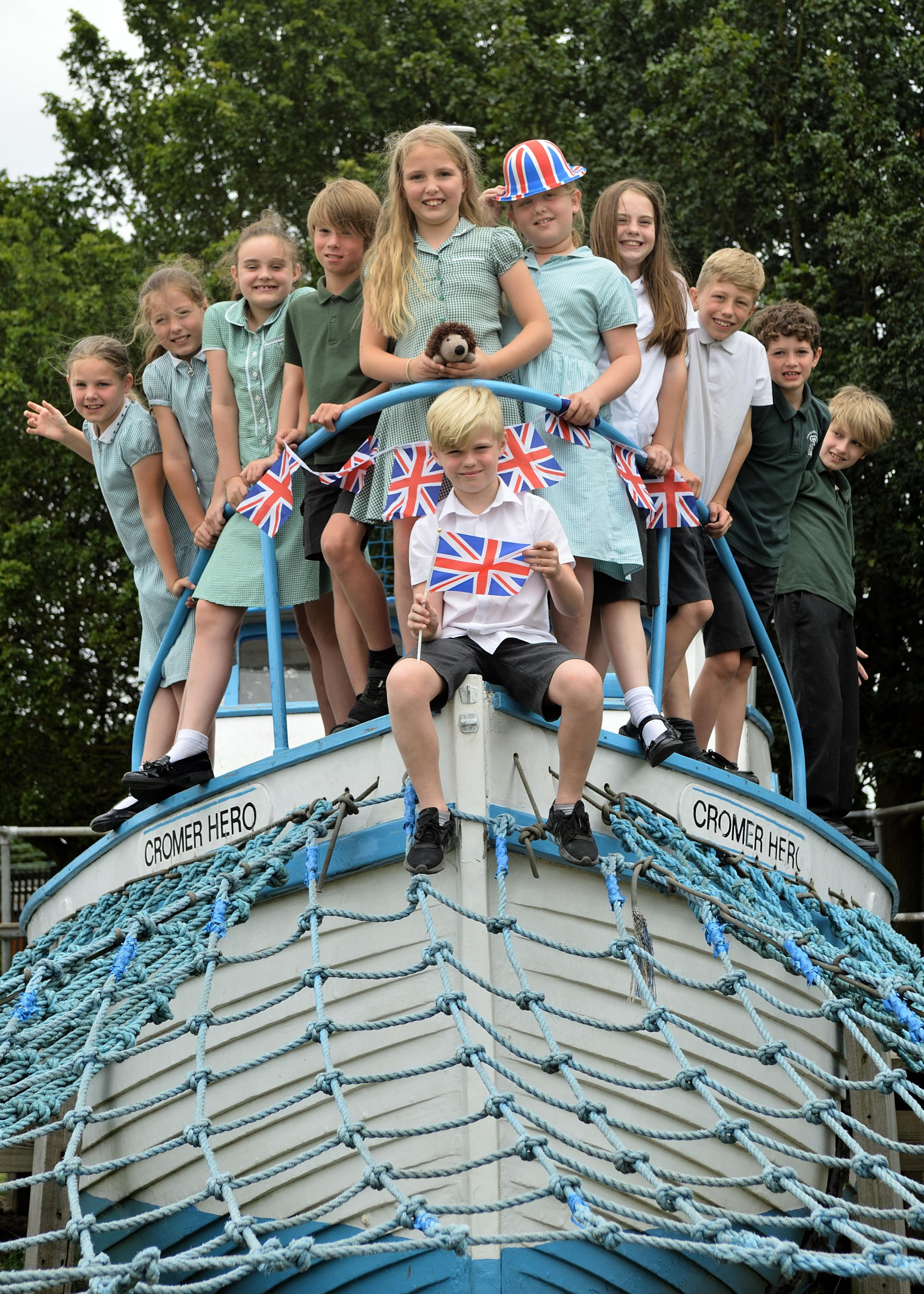 Children at Chingford CofE Primary School are gearing up for the Great British Summer Fair to raise money for air conditioning in their classrooms.